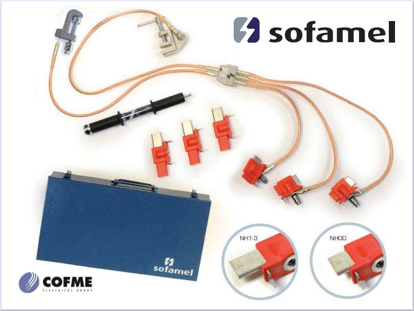 earthing kit from sofamel; kit de puesta a tierra de Sofamel