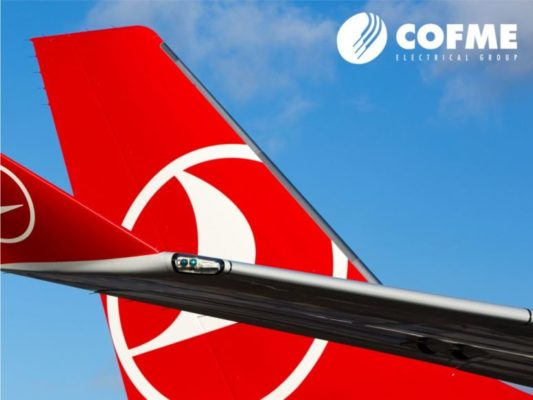 Turkish airlines plane tail