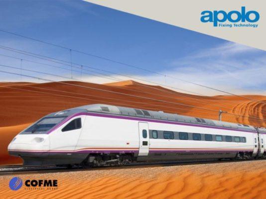 APOLO en el ferrocarril medina-la meca