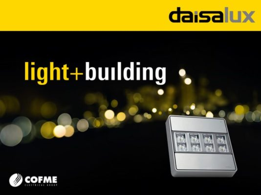 Daisalux en light+building 2018