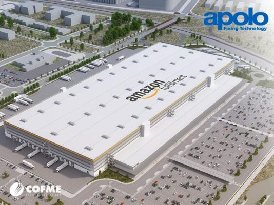 Amazon logistics centre in Barcelona