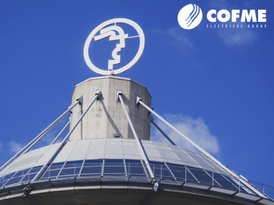Logo de la feria. Empresas de COFME han sido expositores en Hannover Messe 2018