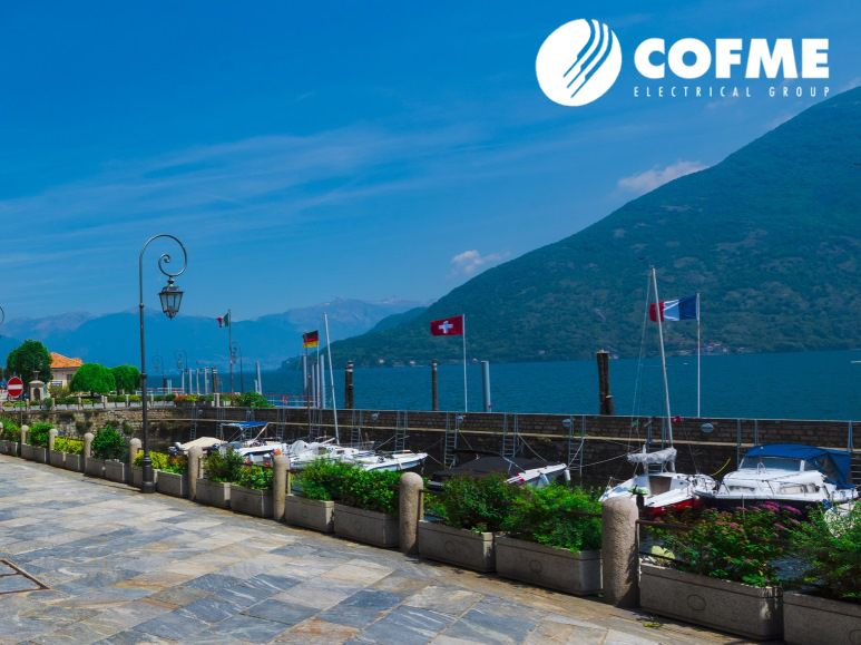 Contract Channel conferences in lago Maggiore in Italy