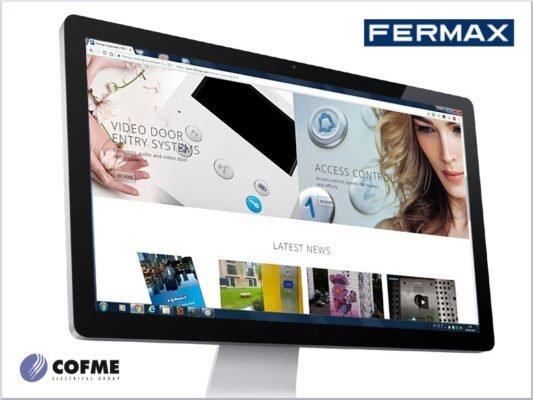 Nueva web de FERMAX