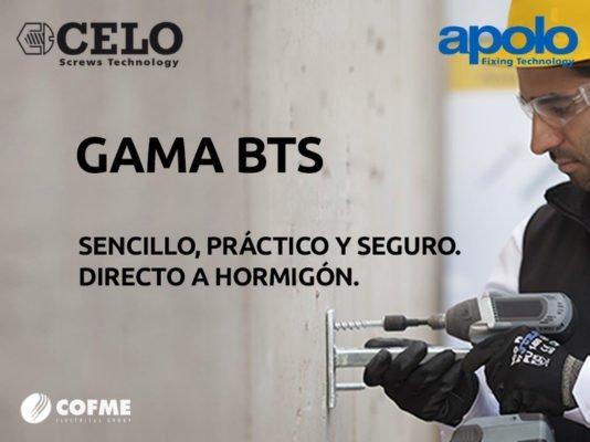CELO-APOLO: gama BTS