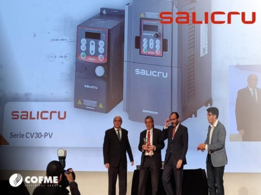 Salicru frequency inverted has received Electroclub prize 2018