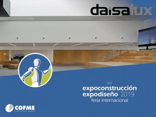 From May 14th to 19th, DAISALUX, COFME's specialist in Emergency Lighting, will present its latest innovations at the Corferias Exhibition Centre in Bogota.
