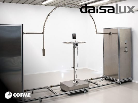 DAISALUX mejora sus instalaciones para pruebas de protección IP.