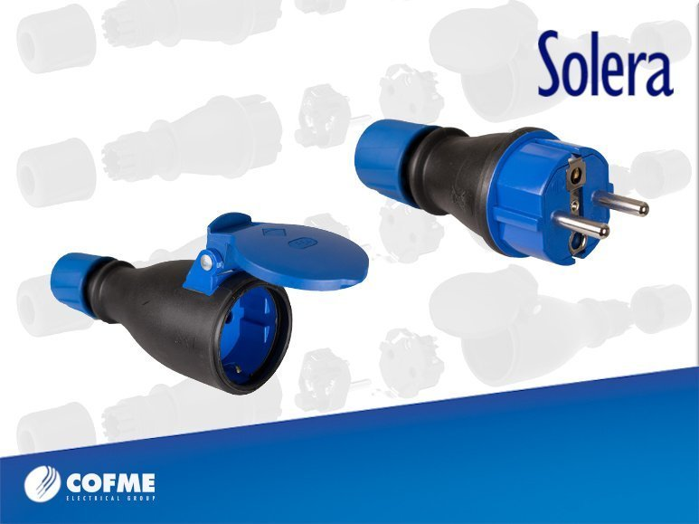 SOLERA new range of sockets and plugs