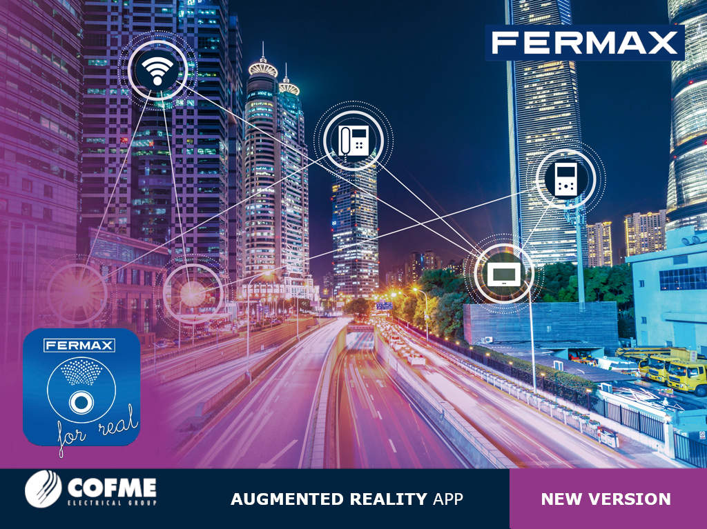 FERMAX launches the new version of its Fermax for Real app