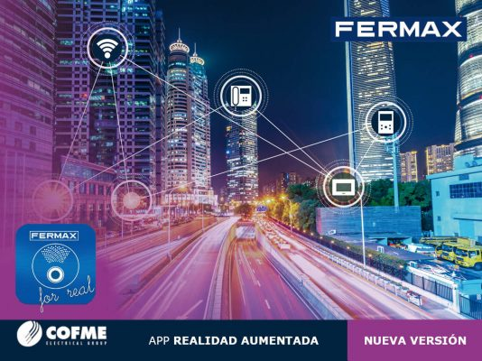 FERMAX lanza la nueva versión de su app Fermax for Real