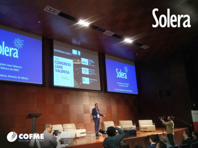 SOLERA, a reference company in Lean Manufacturing