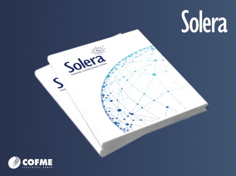 SOLERA presenta su nuevo catálogo 2020