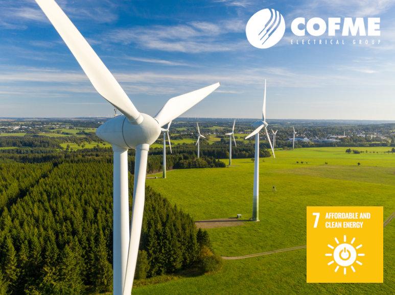 COFME uses 100% renewable energy