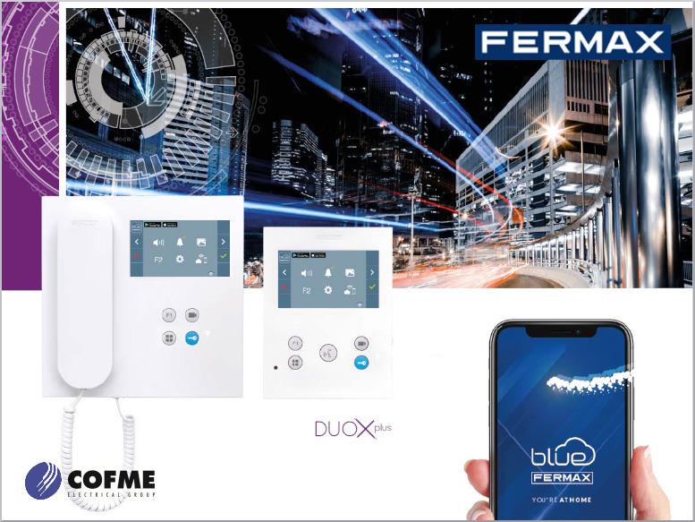 FERMAX lanza al mercado Duox Plus, su sistema de videoportero más avanzado
