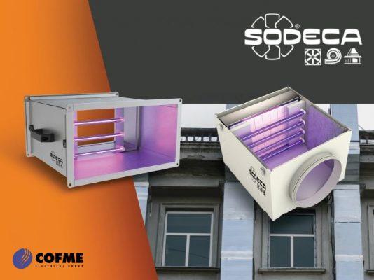 Cámaras germicidas de SODECA