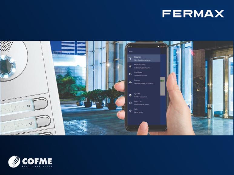 FERMAX: control de accesos con llaver virtual Nearkey
