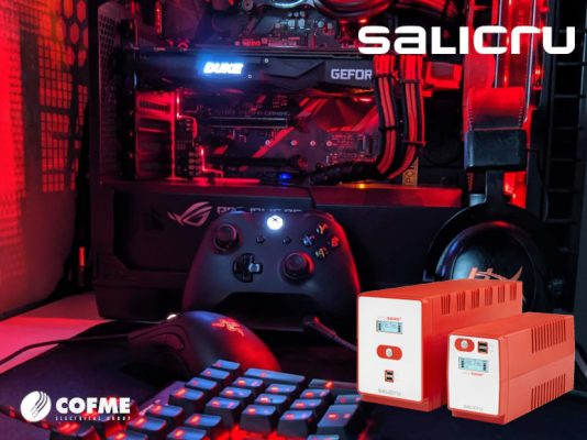 SALICRU promotes SPS SOHO + as an ideal solution for videogamers