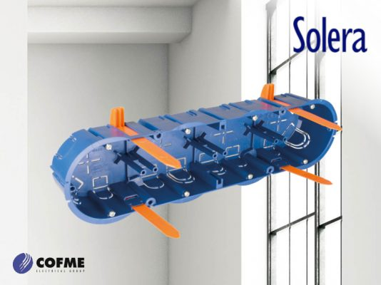 SOLERA introduces a new box for 4 mechanisms in its Blue Series