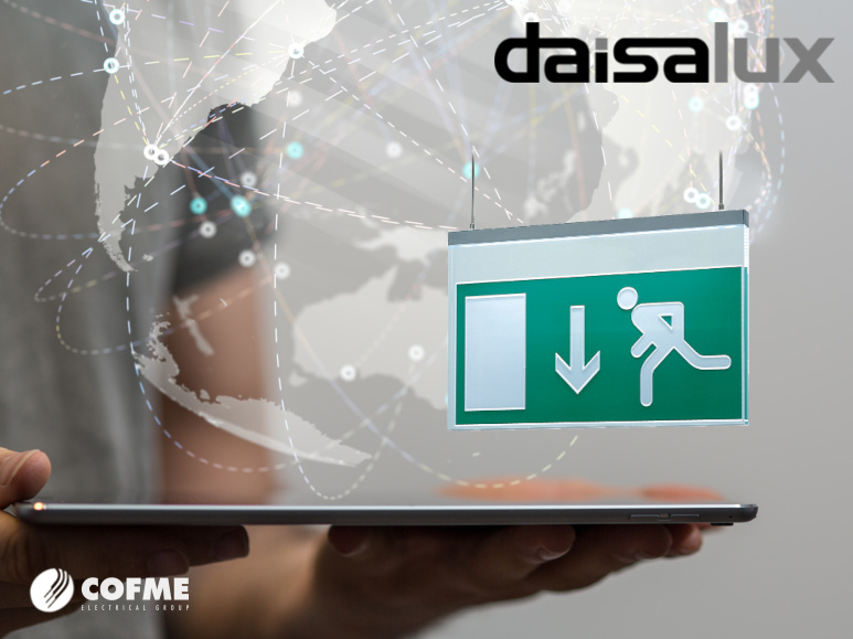 DAISALUX: DALI lighting control protocol on the main series in its catalog