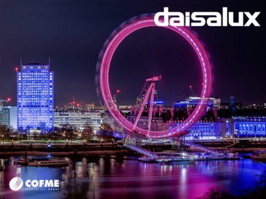 DAISALUX abre un showroom permanente en Londres.