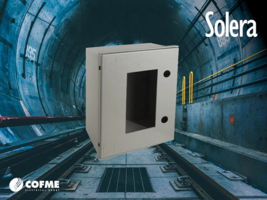 SOLERA: Polyester cabinets IP66 / IK10 of the Polibox Series