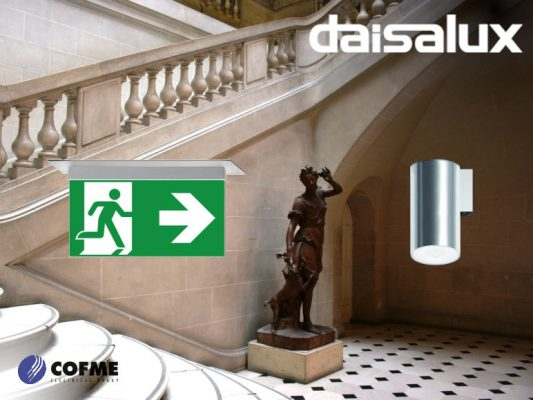 DAISALUX: emergency lighting solutions at the Carnavalet Museum